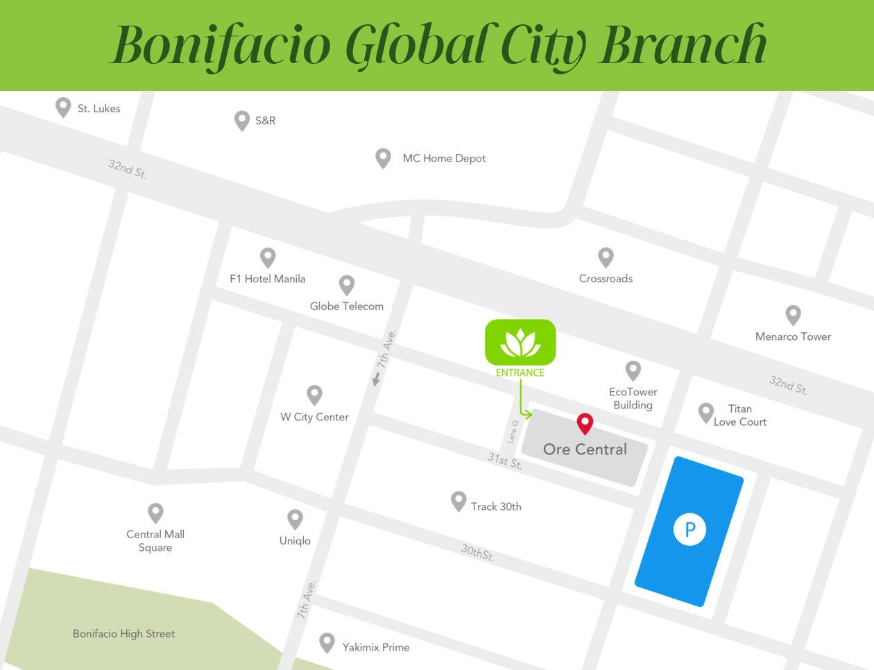 BGC Location Map - Revised