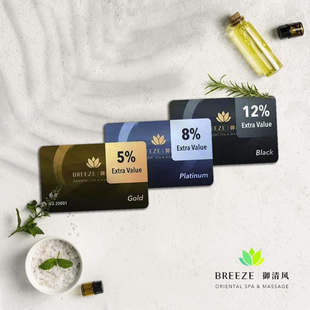 Premium quality design card mockups